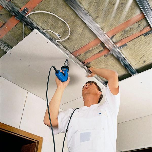 Сделать потолок в доме своими руками