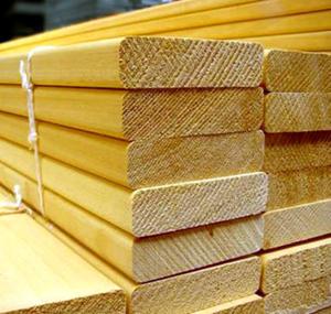 Некоторые породы деревьев, как стройматериалы