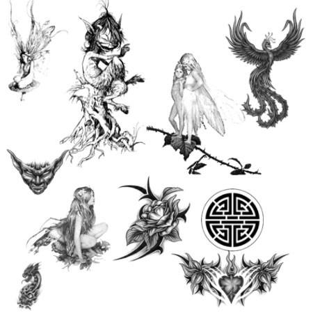 Виды татуировок