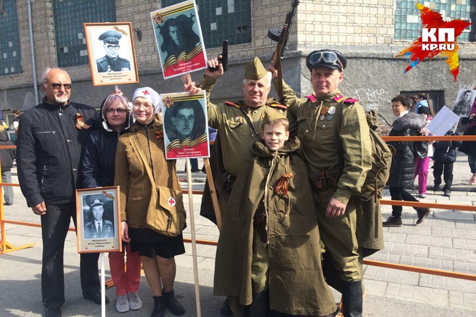 Бессмертный полк в Новосибирске