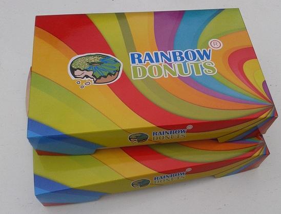 Пончики 'Rainbow Donuts'