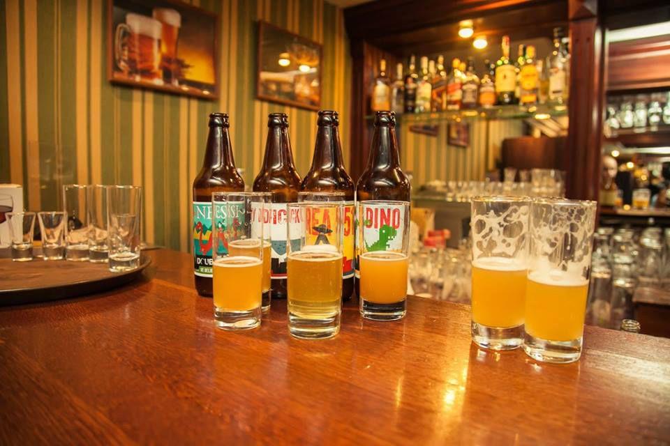 Первый бар крафтового пива в Новосибирске